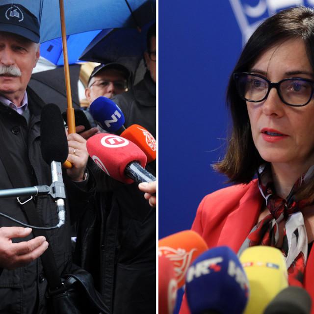 Branimir Mihalinec i Blaženka Divjak