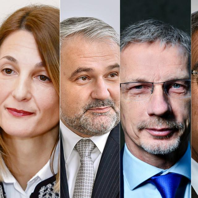 Darko Horvat, Tamara Perko, Davor Majetić, Boris Vujčić, Romeo Collina