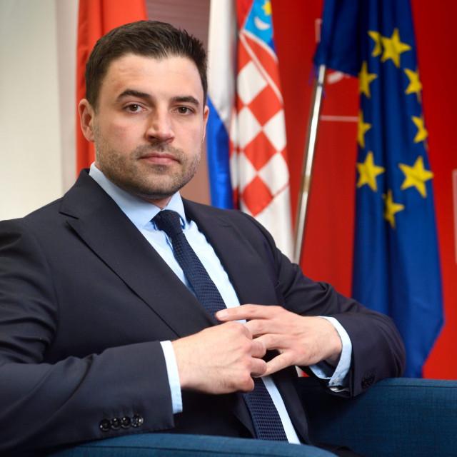 Predsjednik SDP-a i kandidat te stranke za premijera Davor Bernardić