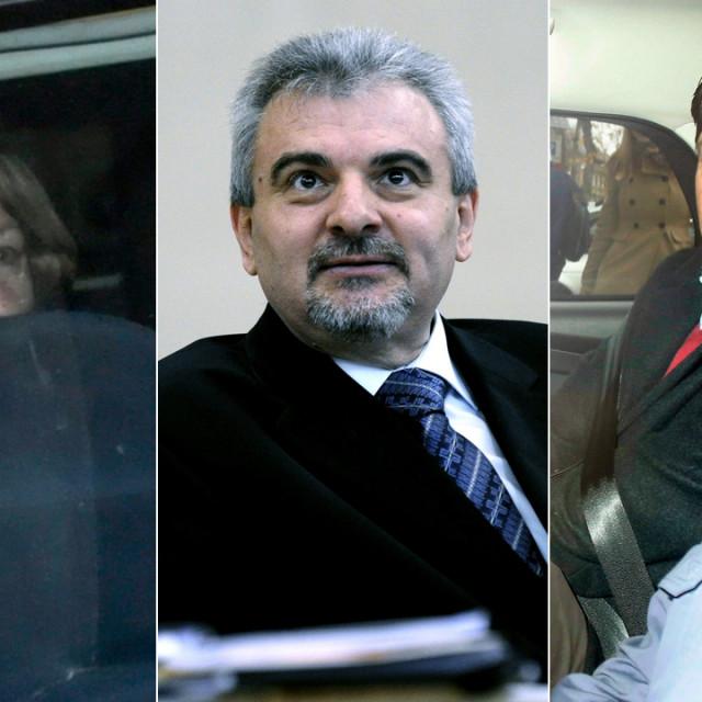 Vesna Malenica, Pero Hrkać i Milan Lučić