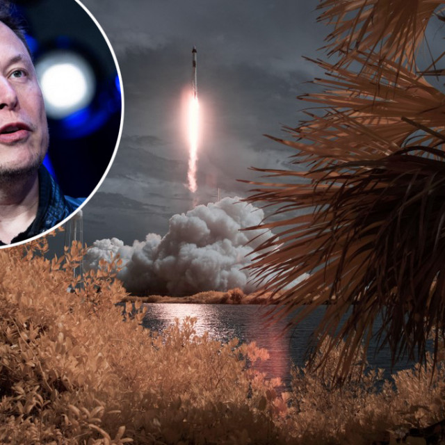 Musk i raketa SpaceX-a Falcon 9
