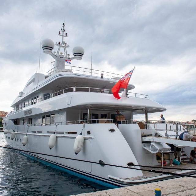 Jahta Bernieja Ecclestonea vrijedna 35 milijuna dolara uplovila je u Dubrovnik
