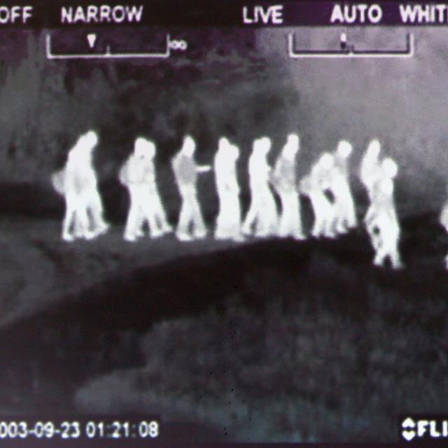 Snimka termovizijske kamere