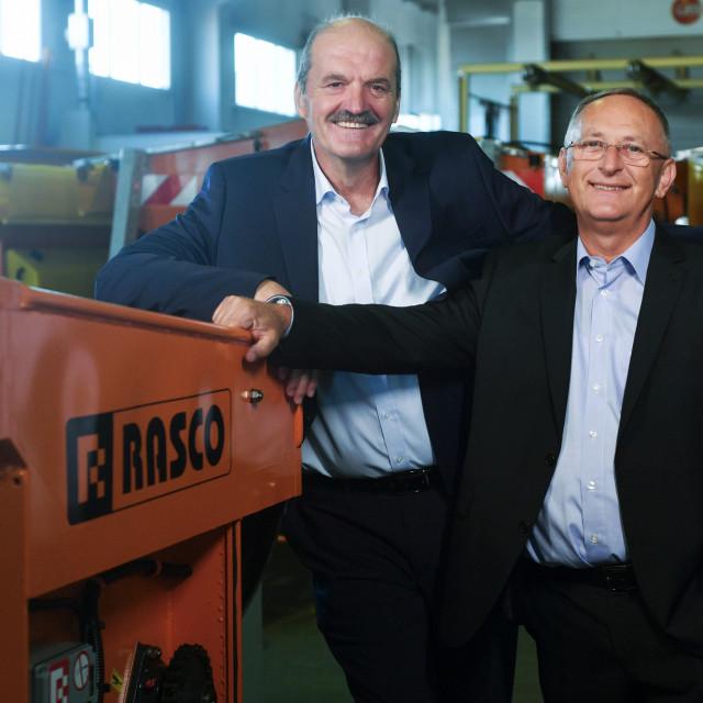 Osnivači Rascoa, Fran Franičević i Darko Paviša