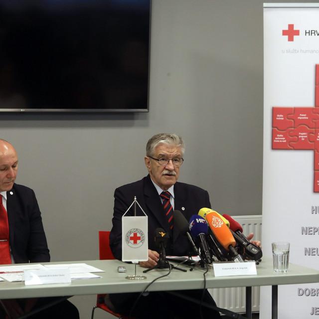 Izvršni predsjednik Robert Markt i Predsjednik HCK dr. Josip Jelić