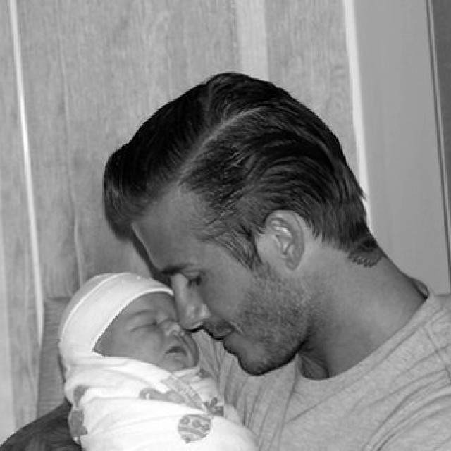 Harper Seven i David Beckham