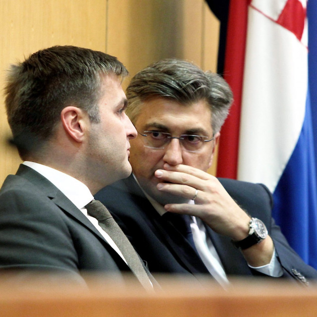 Tomislav Ćorić, Andrej Plenković