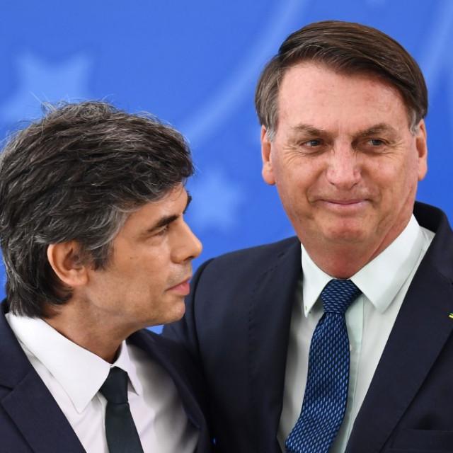 Nelson Teich i Jair Bolsonaro