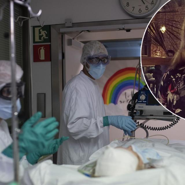 Prizor iz španjolske bolnice, Amadea Mjertan