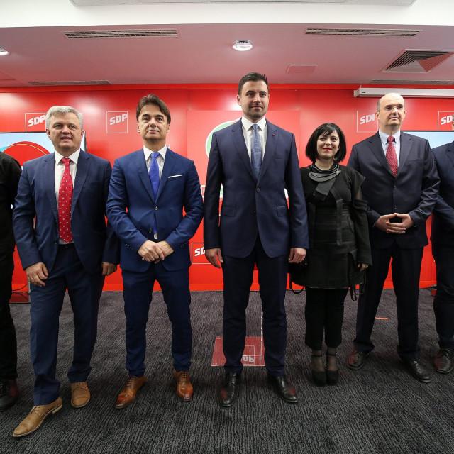 Marko Rakar, Zvonko Mršić, Branko Grčić, Davor Bernardić, Mirela Holy, Josip Tica, Boris Lalovac