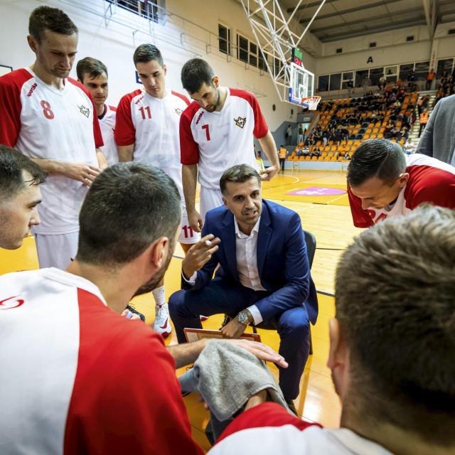 Na fotografiji: Josip Sesar, trener Gorice.<br />