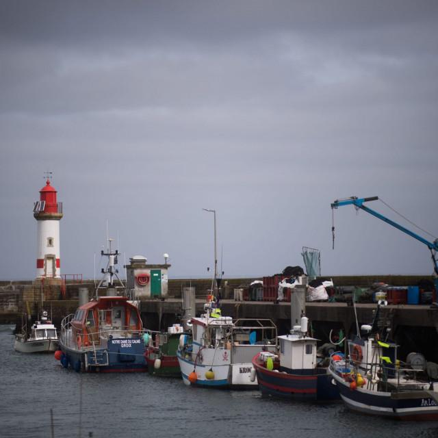 Francuske ribarice na otoku Groix
