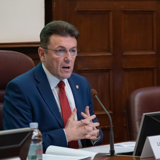 Luka Burilović, predsjednik HGK
