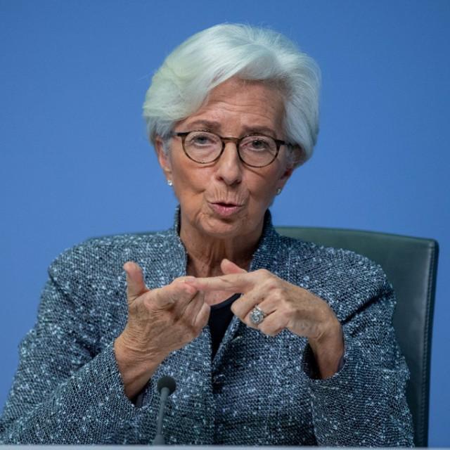 Predsjednica ECB-a Christine Lagarde
