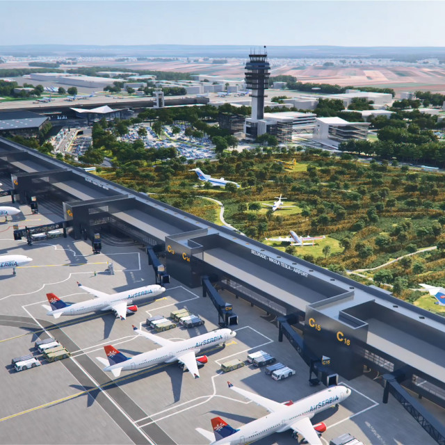 Zračna luka Nikola Tesla u Beogradu