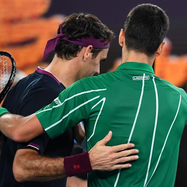 Novak Đoković posljednji je put pobijedio Federera u polufinalu Melbournea