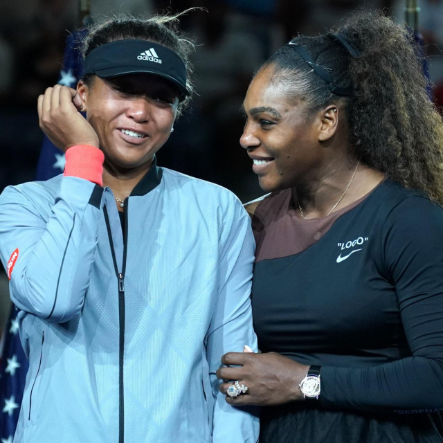 Naomi Osaka i Serena Williams