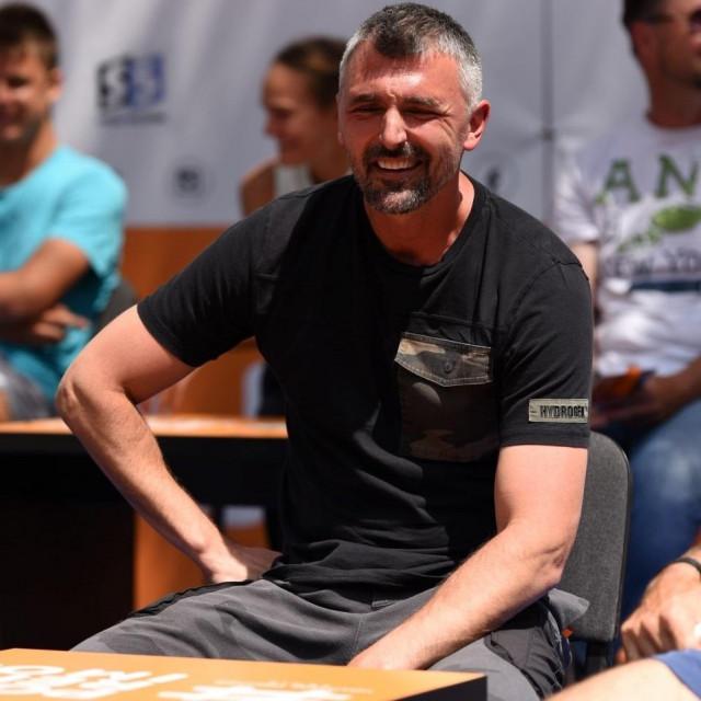 Goran Ivanišević na teniskom spektaklu u Osijeku