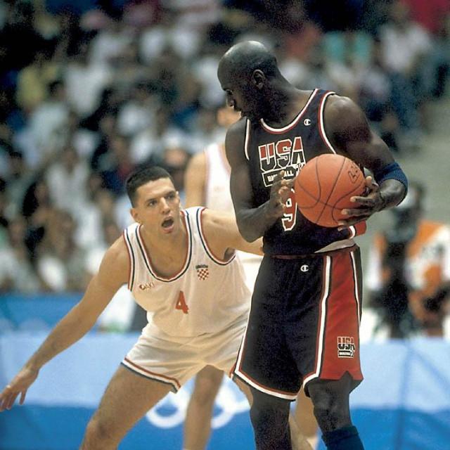 Sudar koji se pamti, Dražen protiv Jordana