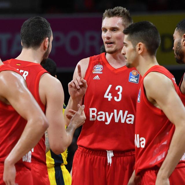 Košarkaši Bayerna protiv Oldenburg