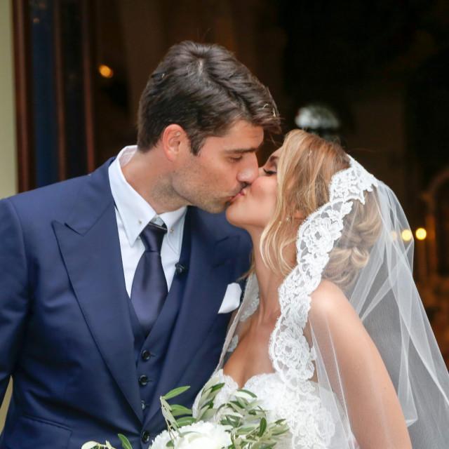 Franka Batelić i Vedran Ćorluka vjenčali su se u Balama 2018. godine