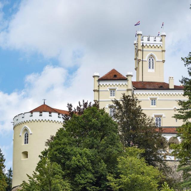 Dvorac Trakošćan i šetnica oko jezera<br />