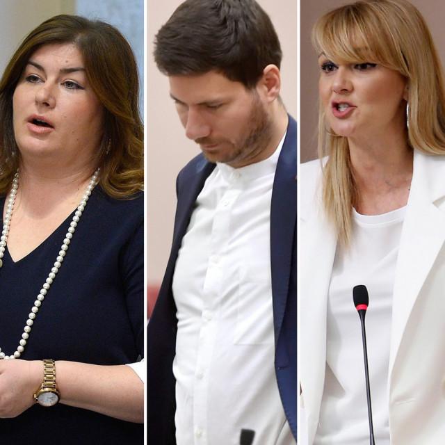 Milijan Brkić, Gabrijela Žalac, Ivan Pernar, Bruna Esih i Branimir Glavaš