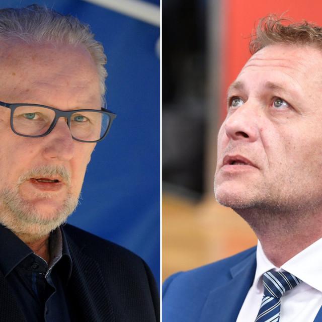 Davor Božinović i Krešo Beljak