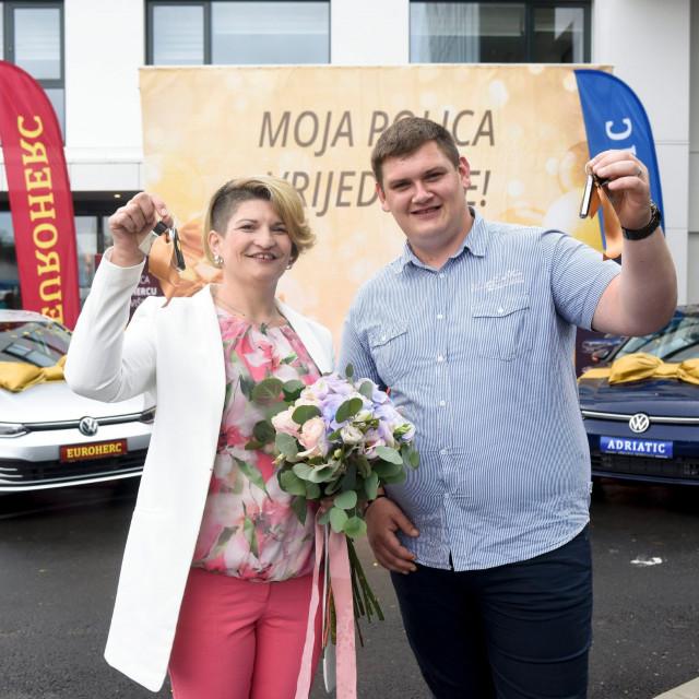 Marija Šarić i Antonio Falica