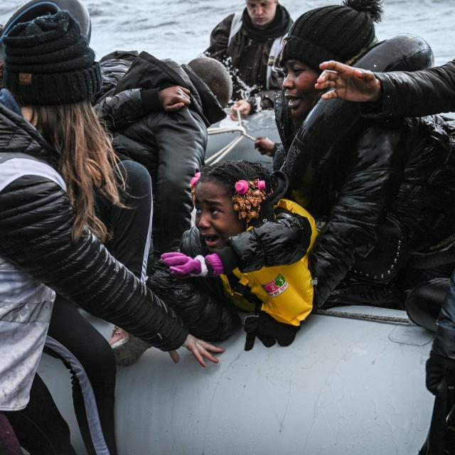 Ilustracija / Migranti u Grčkoj