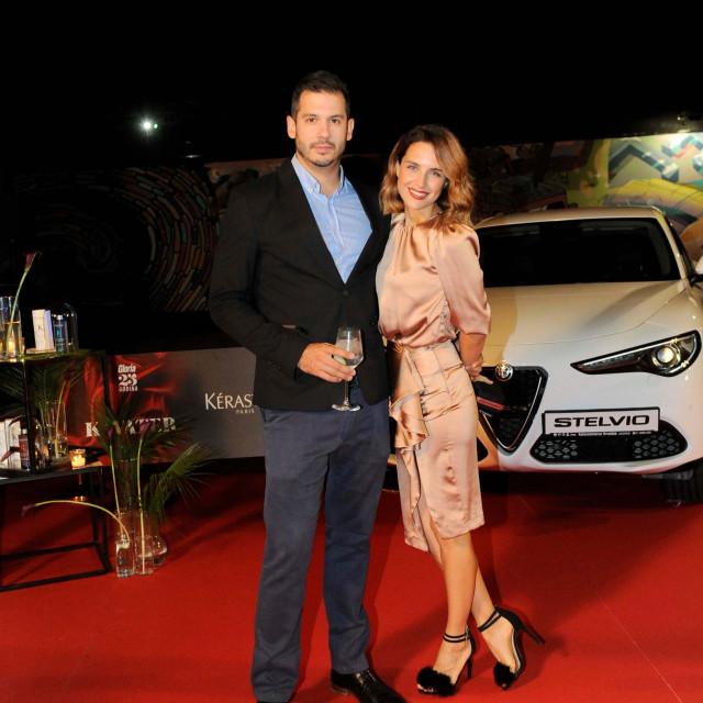Doris Pinčić Rogoznica i Boris Rogoznica zajedno su se zabavljali na prošlogodišnjoj proslavi 25. godišnjice magazina Gloria