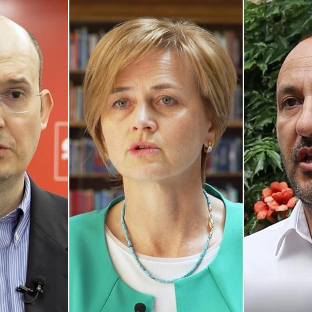Prof. Josip Tica, Sandra Švaljek, Hrvoje Zekanović