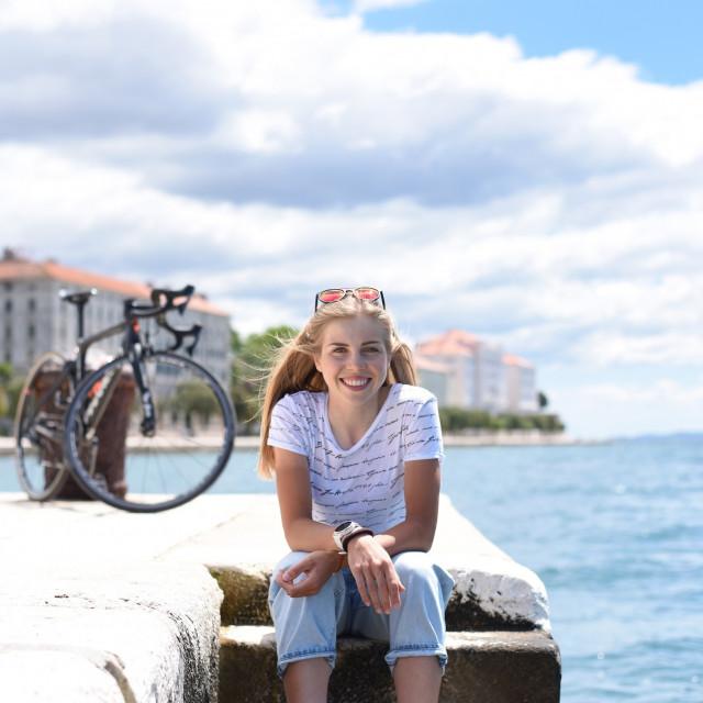 Maja Perinovic - najbolja hrvatska biciklistica