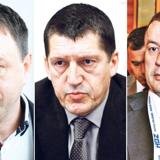 Ante Deur, Ivo Lučić, Miljenko Filipović