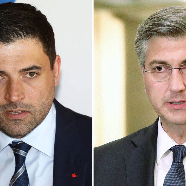 Davor Bernardić; Andrej Plenković