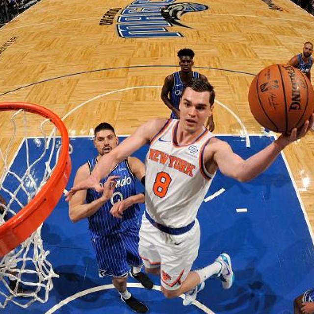 Mario Hezonja u dresu New York Knicks prošle godine
