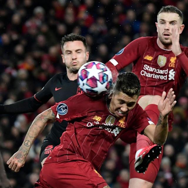 Utakmica Lige prvaka između Liverpoola i Atletico Madrida