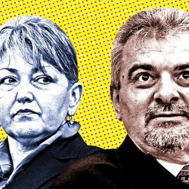 Vesna Malenica i Pero Hrkać