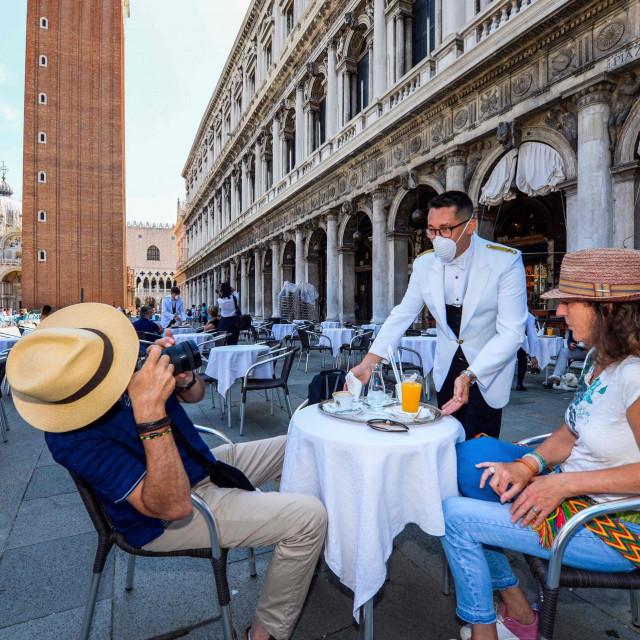 Venecija (Photo by ANDREA PATTARO/AFP)