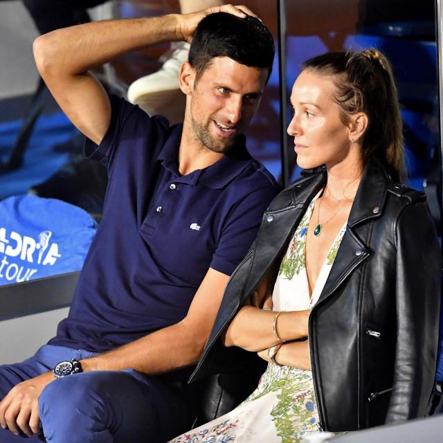 Novak Đoković i Jelena
