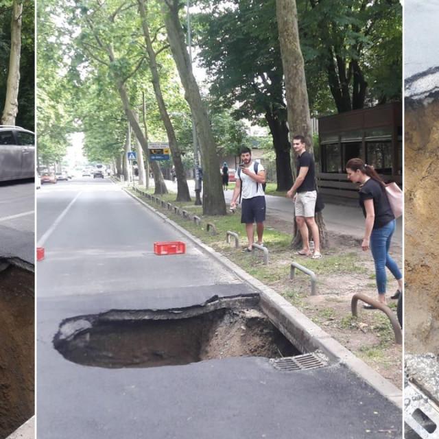 Propao asfalt na Bukovačkoj cesti