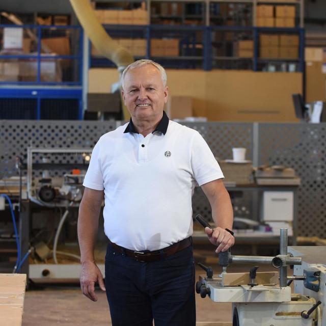 Stjepan Basar, suvlasnik tvrtke Aquaestil iz Ozlja