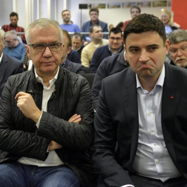 Rajko Ostojić i Davor Bernardić