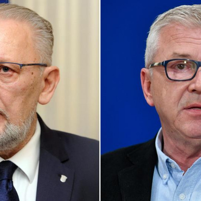 Davor Božinović; Ranko Ostojić
