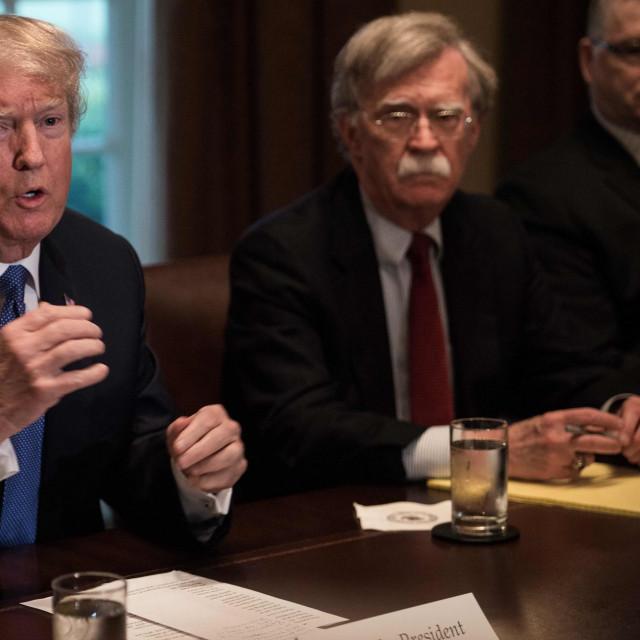 Donald Trump i John Bolton