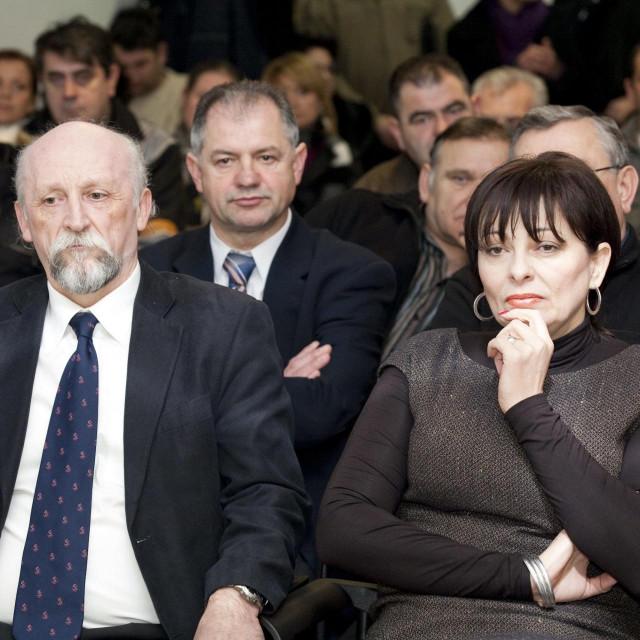 Željko Vrbanus i Marina Lovrić Merzel