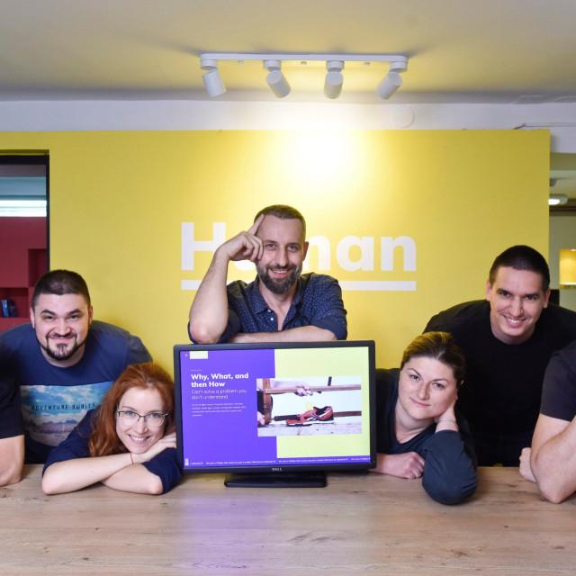 IT tvrtka Human koja se bavi web dizajnom