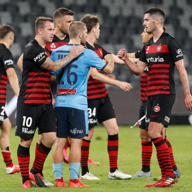 Sydney FC protiv Western Sydney Wanderersa
