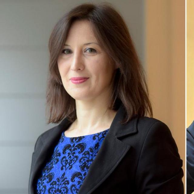 Dalija Orešković i Dražen Bošnjaković