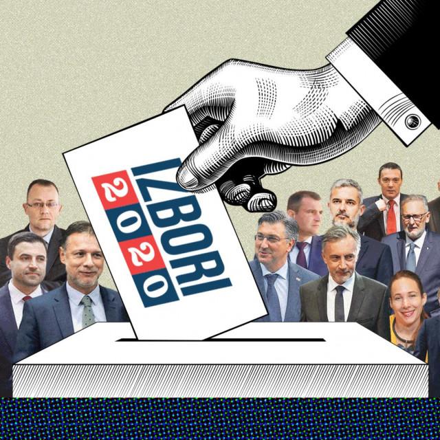 Ilustracija izbori